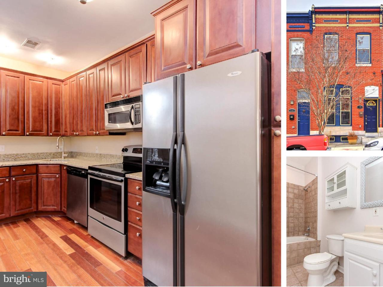 Single Family for Sale at 129 Patterson Park Ave N Baltimore, Maryland 21231 United States