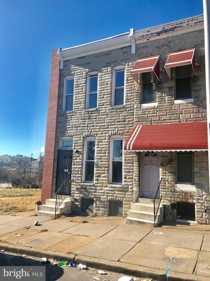 Single Family for Sale at 1104 Montford Ave Baltimore, Maryland 21213 United States