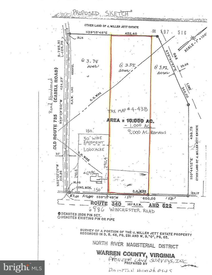 Commercial for Sale at 6986 Winchester Rd Front Royal, Virginia 22630 United States