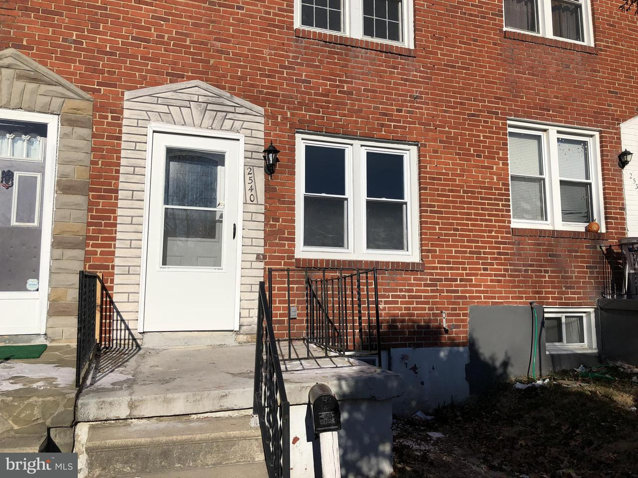 Other Residential for Rent at 2540 Tolley St Baltimore, Maryland 21230 United States