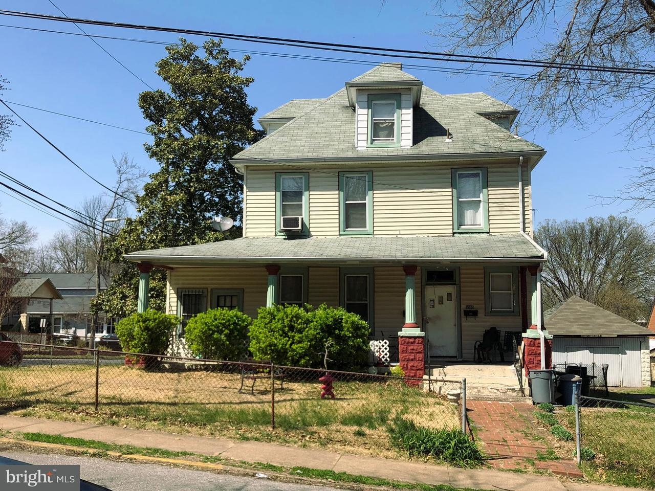 獨棟家庭住宅 為 出售 在 3300 Shepherd Street 3300 Shepherd Street Mount Rainier, 馬里蘭州 20712 美國