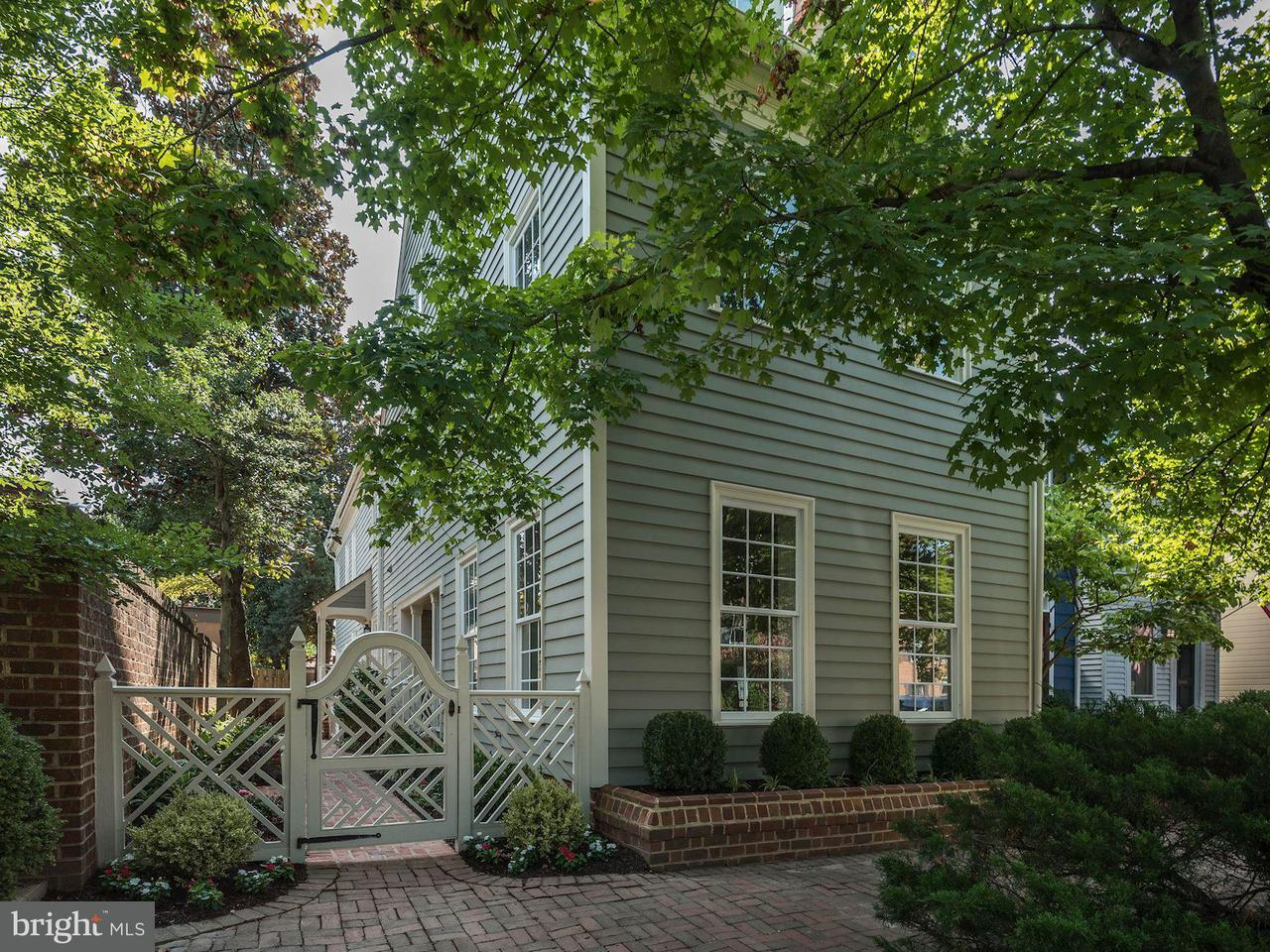 Casa unifamiliar adosada (Townhouse) por un Venta en 608 N Saint Asaph Street 608 N Saint Asaph Street Alexandria, Virginia 22314 Estados Unidos