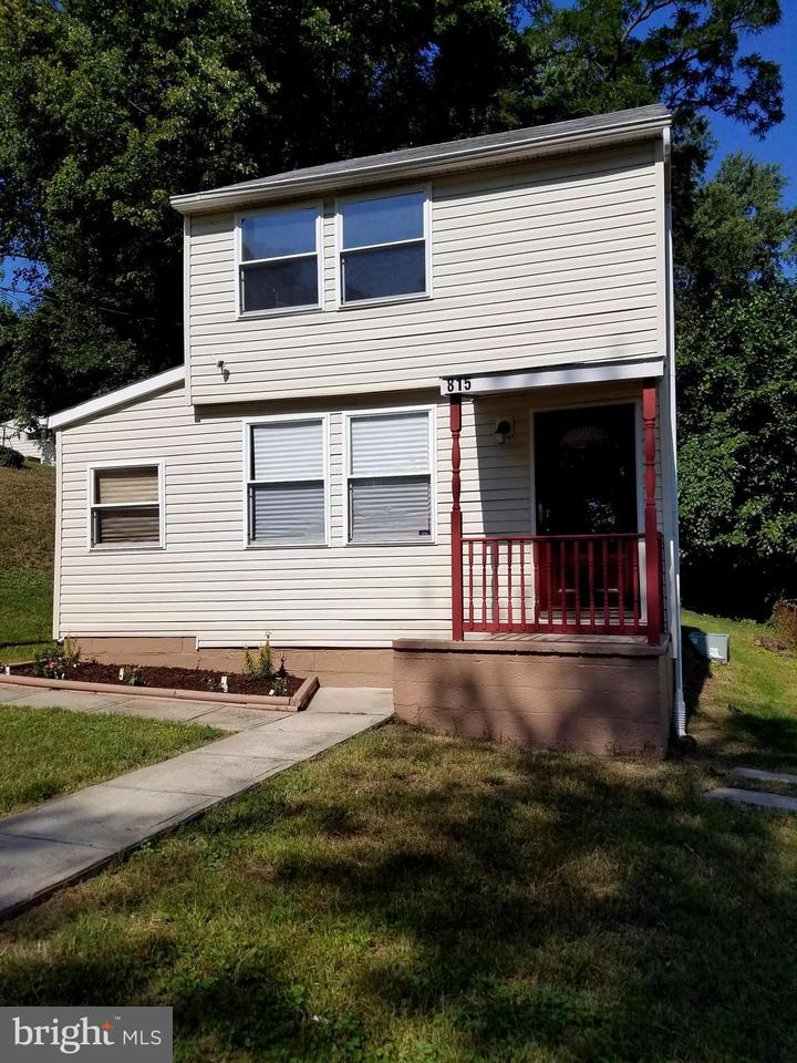 Photo of home for sale at 815 Kayak Avenue, Capitol Heights MD