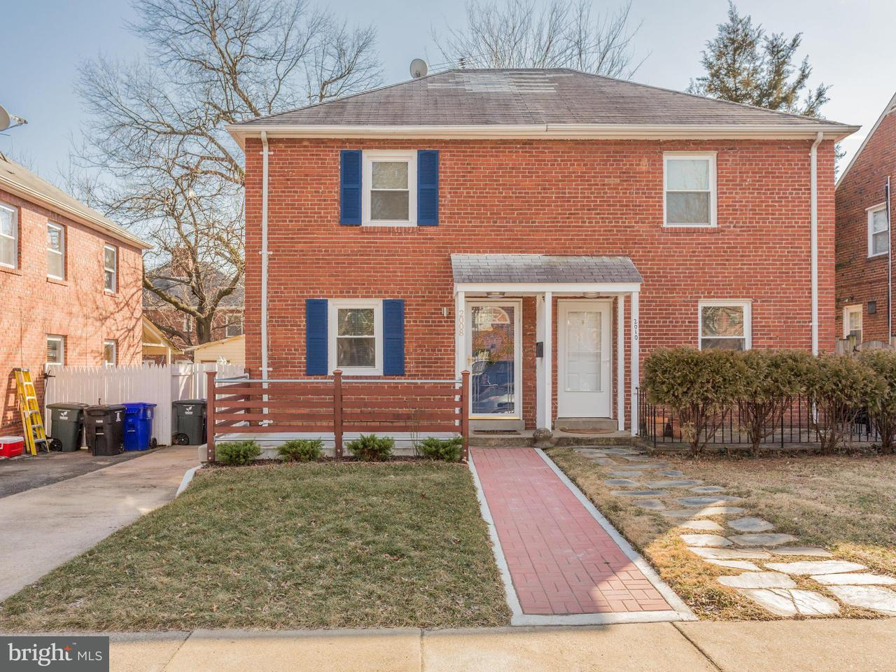 Duplex for Sale at 2008 21st St N 2008 21st St N Arlington, Virginia 22201 United States