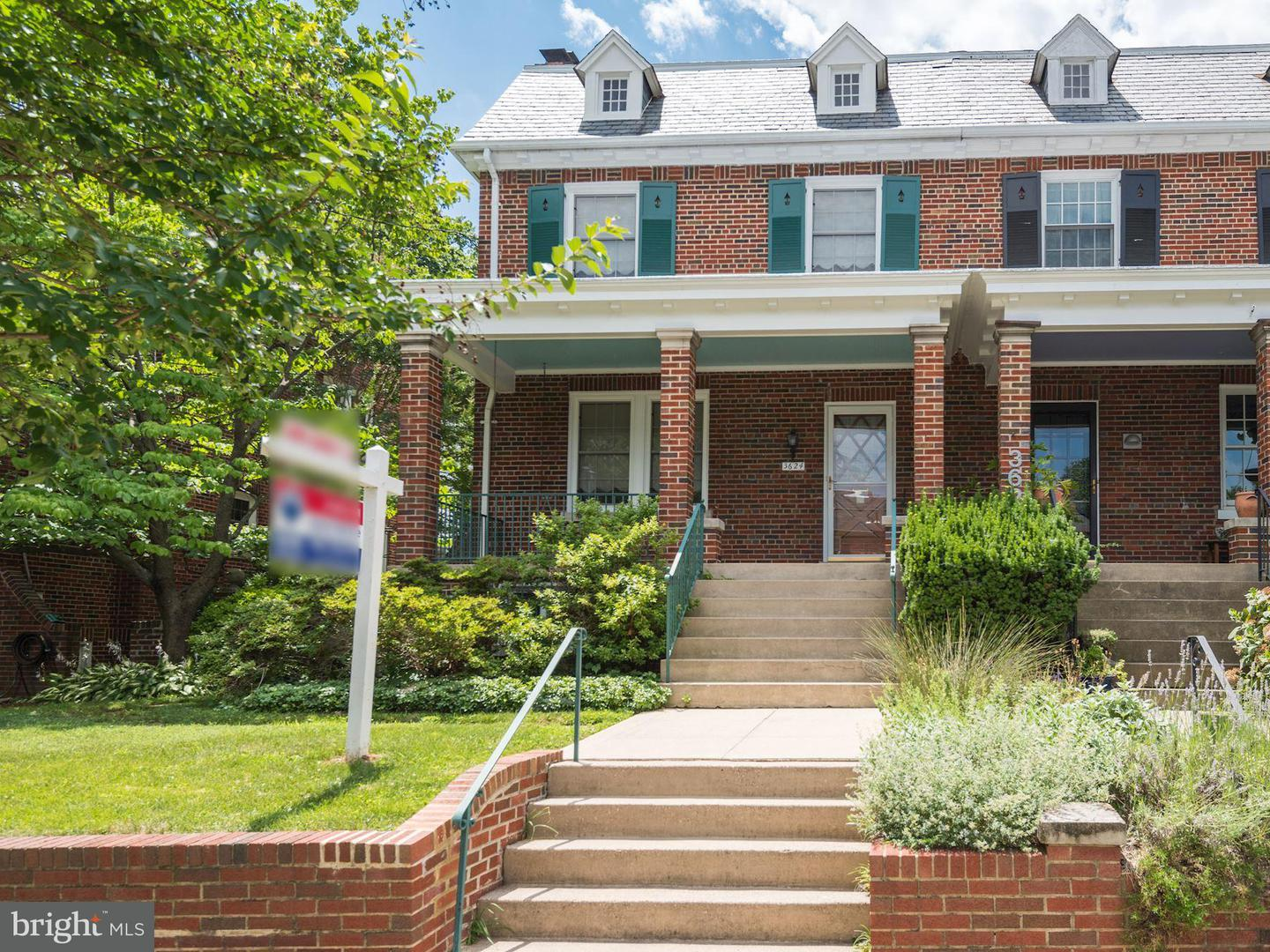 Single Family for Sale at 3624 Warren St NW Washington, District Of Columbia 20008 United States