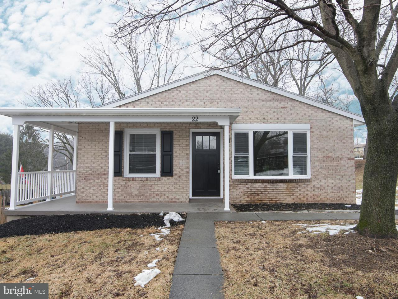 Single Family for Sale at 22 Poplar St Funkstown, Maryland 21734 United States