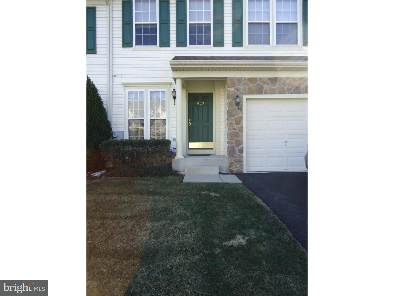 Townhouse for Rent at 839 GERANIUM Drive Warrington, Pennsylvania 18976 United States