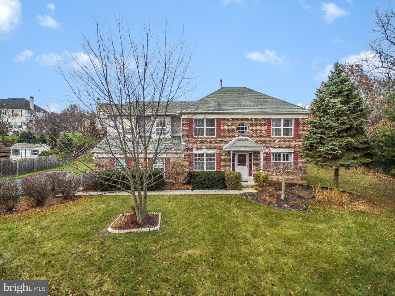 Частный односемейный дом для того Продажа на 9012 TROLLEY Lane Eagleville, Пенсильвания 19403 Соединенные Штаты