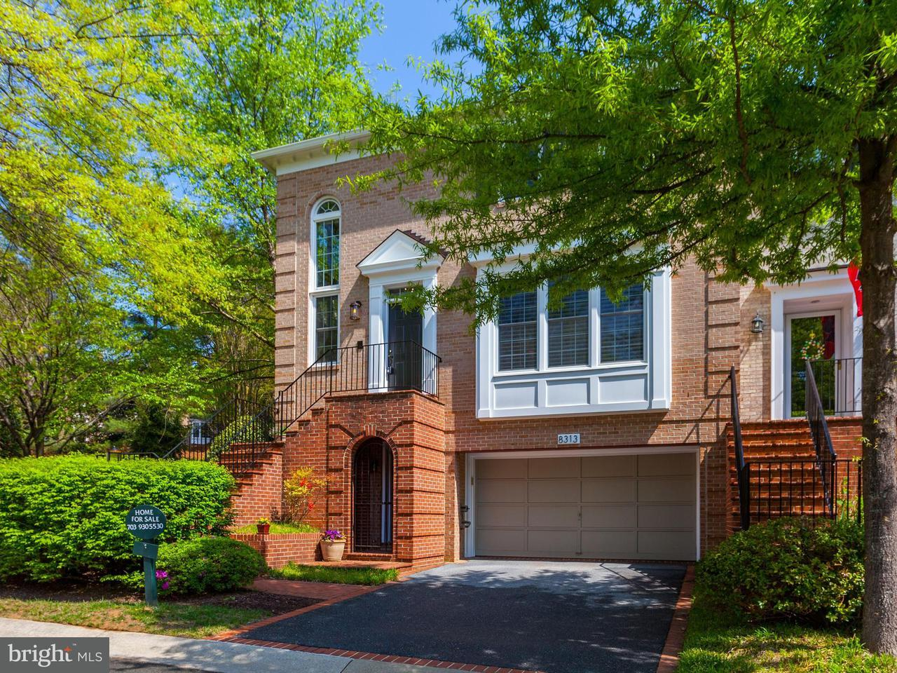 Townhouse for Sale at 8313 Turnberry Court 8313 Turnberry Court Potomac, Maryland 20854 United States