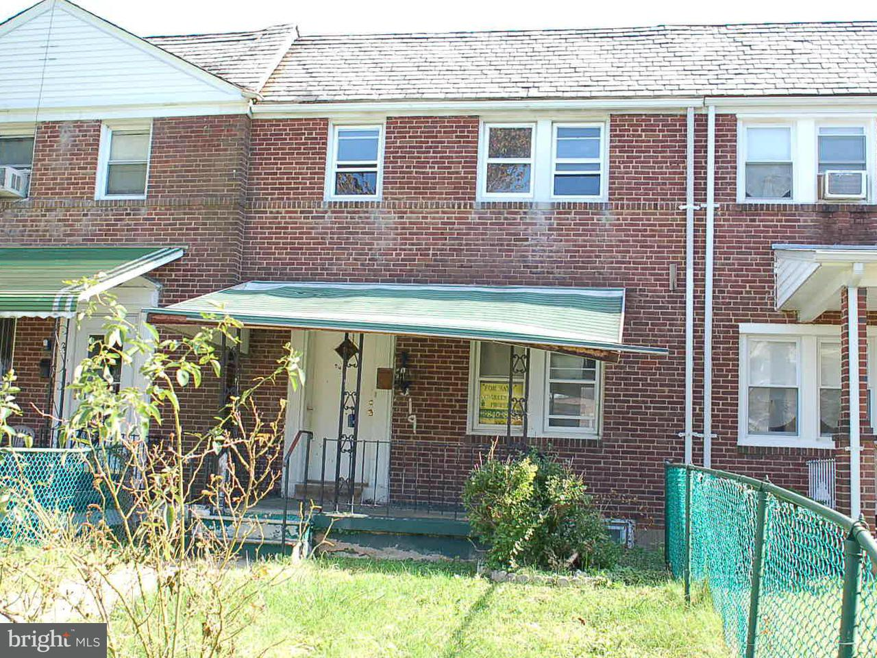 Single Family for Sale at 2519 Keyworth Ave Baltimore, Maryland 21215 United States