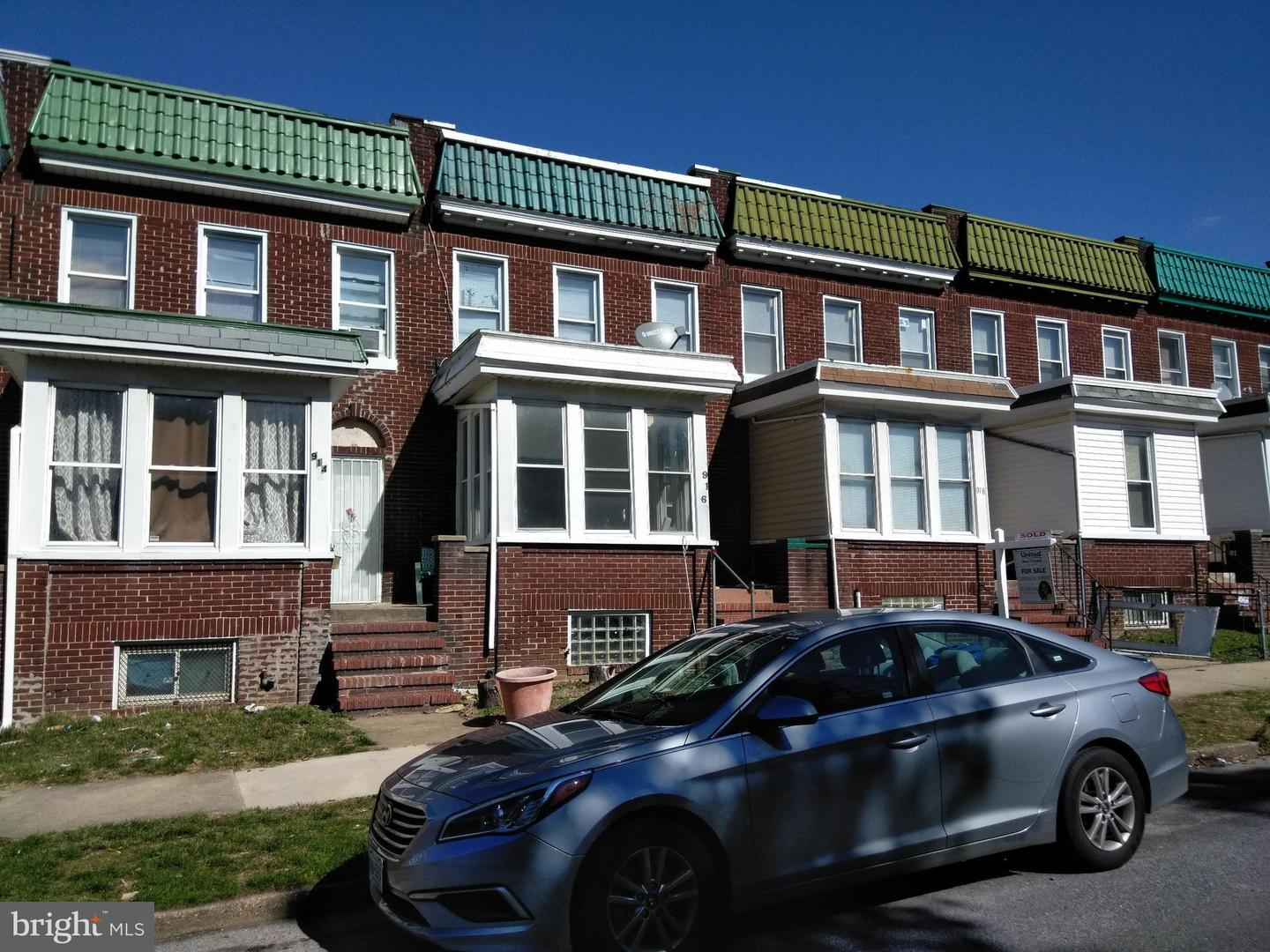 Single Family for Sale at 916 Bonaparte Ave Baltimore, Maryland 21218 United States