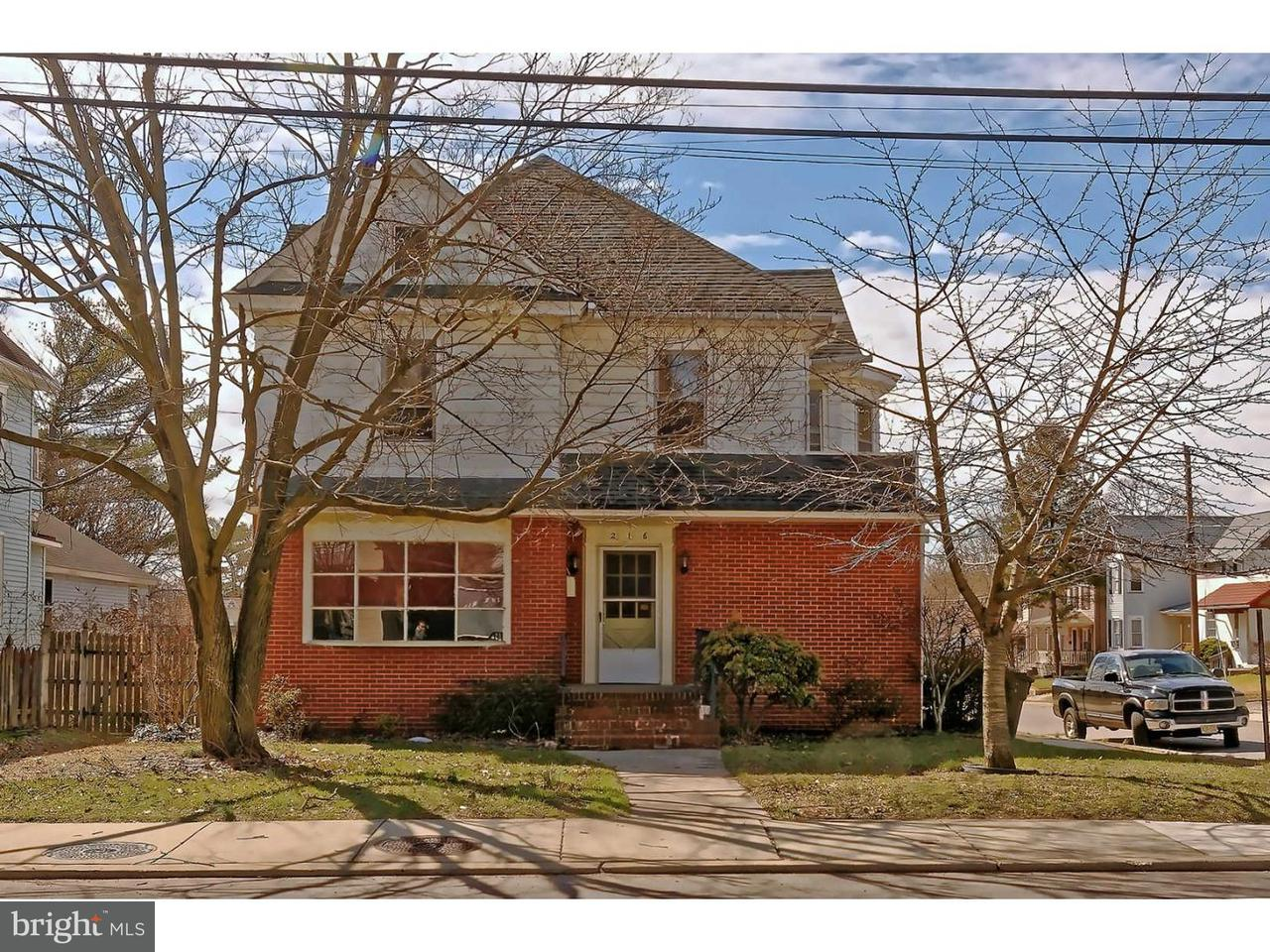 Single Family Home for Rent at 216 N BROADWAY #B Pitman, New Jersey 08071 United States