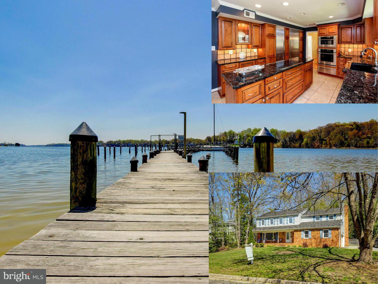 Single Family Home for Sale at 496 Lymington Road 496 Lymington Road Severna Park, Maryland 21146 United States