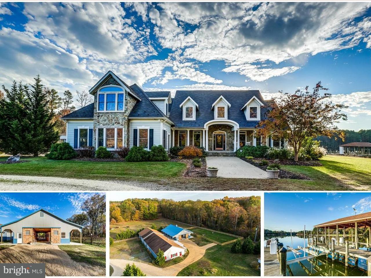 Farm for Sale at 824 Skipjack Rd Kinsale, Virginia 22488 United States