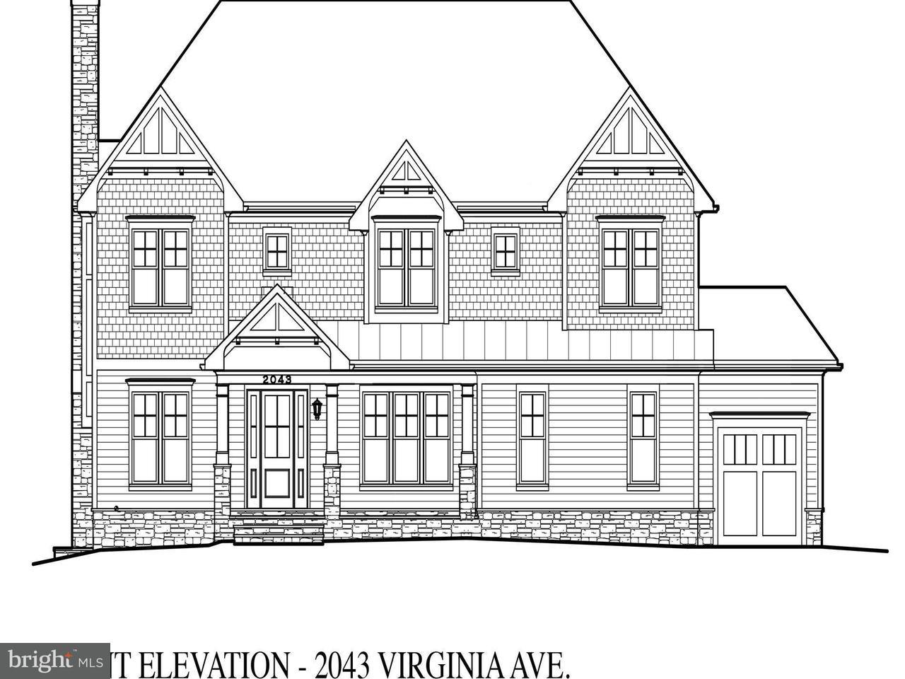 Villa per Vendita alle ore 2043 Virginia Avenue 2043 Virginia Avenue Falls Church, Virginia 22043 Stati Uniti
