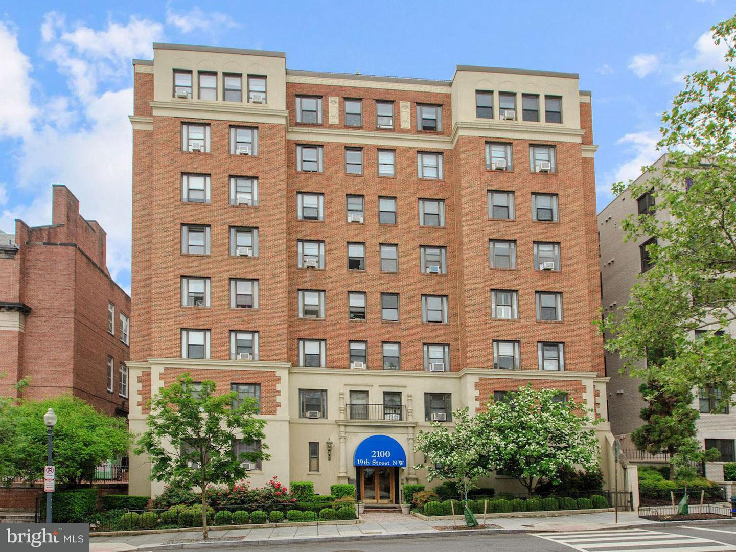Single Family for Sale at 2100 19th St NW #501 Washington, District Of Columbia 20009 United States