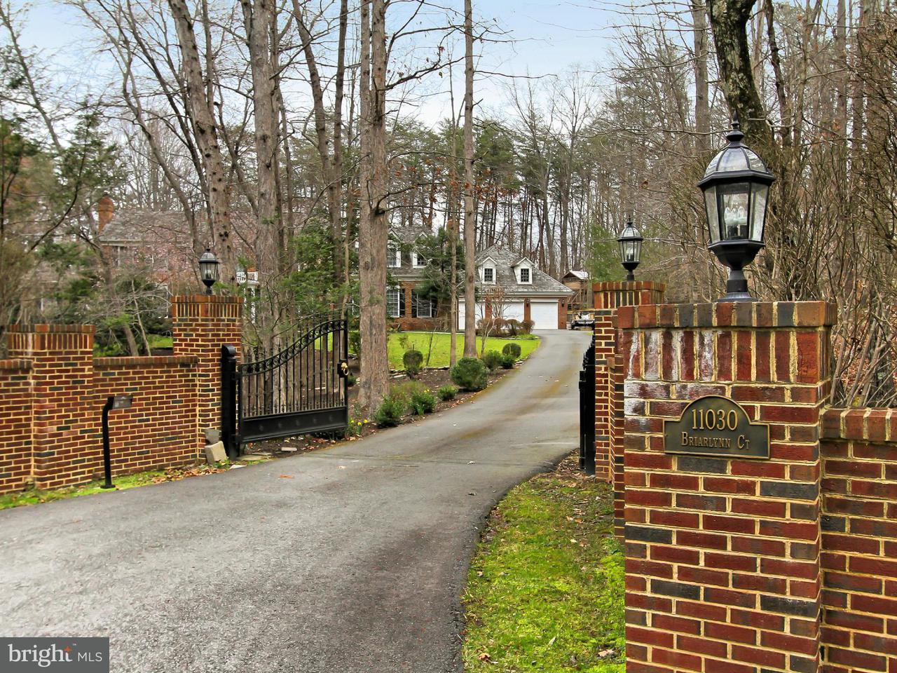 Частный односемейный дом для того Продажа на 11030 Briarlynn Court 11030 Briarlynn Court Fairfax Station, Виргиния 22039 Соединенные Штаты
