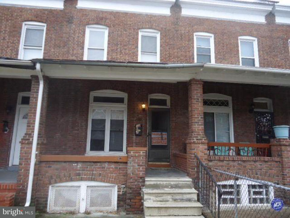 Other Residential for Rent at 1637 Montpelier St Baltimore, Maryland 21218 United States