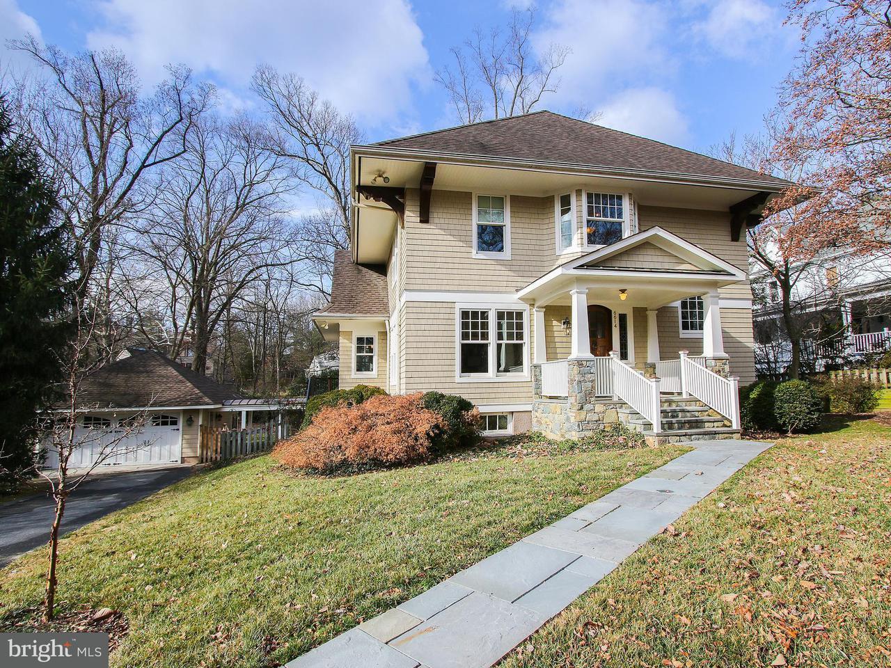 Частный односемейный дом для того Продажа на 6614 81st Street 6614 81st Street Cabin John, Мэриленд 20818 Соединенные Штаты