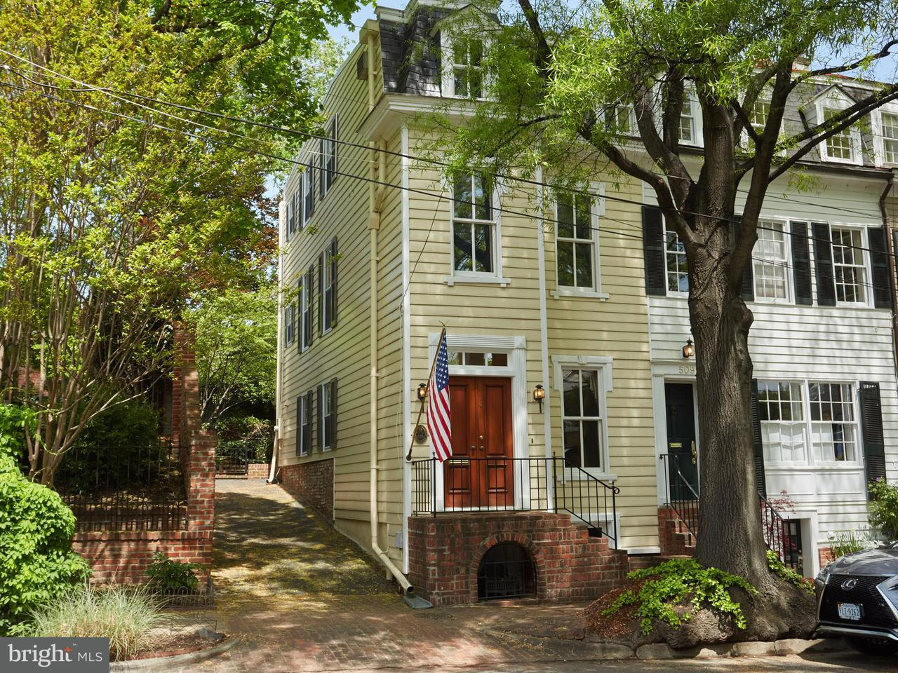 Single Family for Sale at 511 Wolfe St Alexandria, Virginia 22314 United States