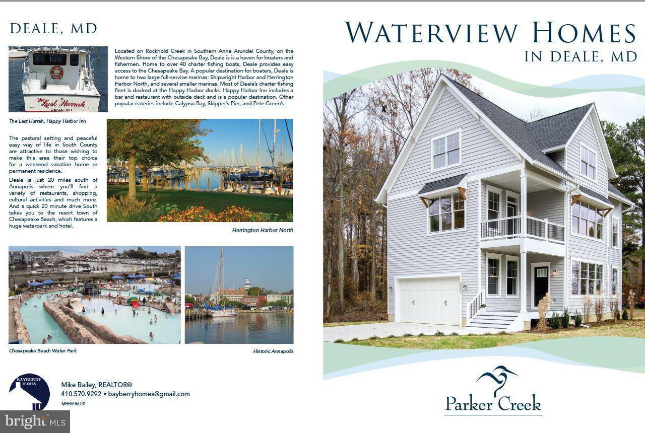 土地,用地 为 销售 在 1003 Deale Beach Road 1003 Deale Beach Road Deale, 马里兰州 20751 美国