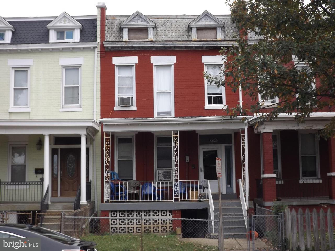 Casa unifamiliar adosada (Townhouse) por un Venta en 2603 North Capitol St Ne 2603 North Capitol St Ne Washington, Distrito De Columbia 20002 Estados Unidos