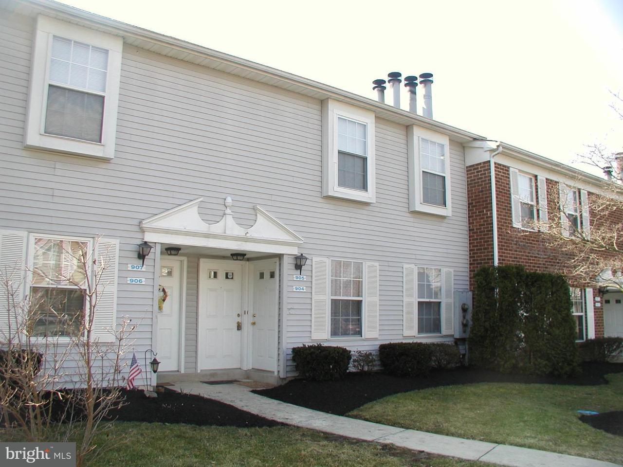 独户住宅 为 出租 在 905 HUNTINGDON MEWS Clementon, 新泽西州 08021 美国