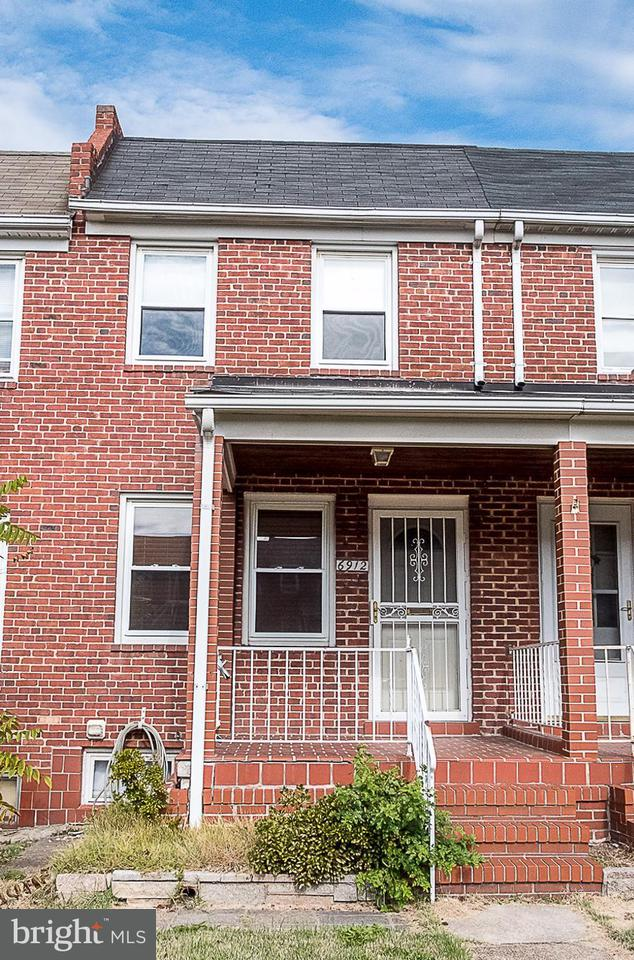 Single Family for Sale at 6912 Bank St Baltimore, Maryland 21224 United States