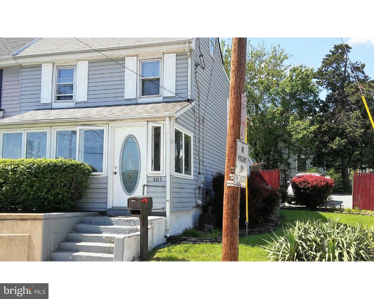Single Family Home for Sale at 403 MAIN Street Stanton, Delaware 19804 United States