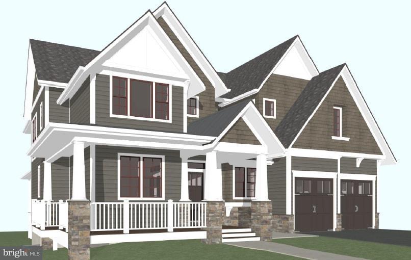 Частный односемейный дом для того Продажа на 303 Virginia Ave N 303 Virginia Ave N Falls Church, Виргиния 22046 Соединенные Штаты