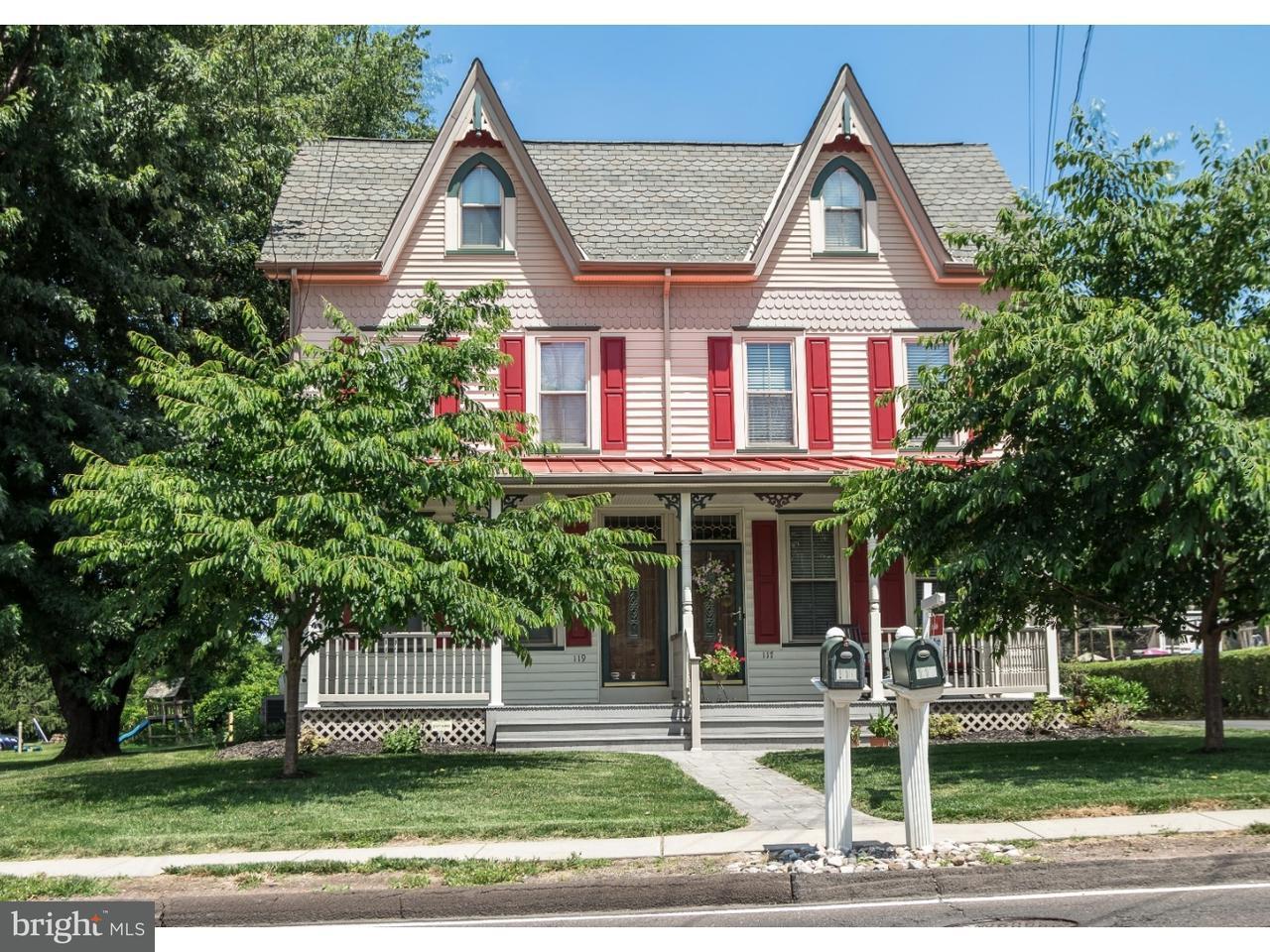 Duplex pour l Vente à 119 BUSTLETON PIKE Churchville, Pennsylvanie 18966 États-Unis