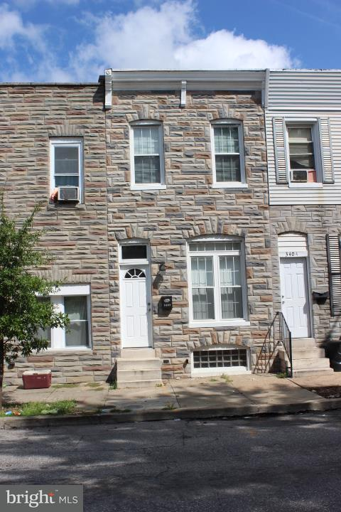 Single Family for Sale at 3402 Lombard St Baltimore, Maryland 21224 United States