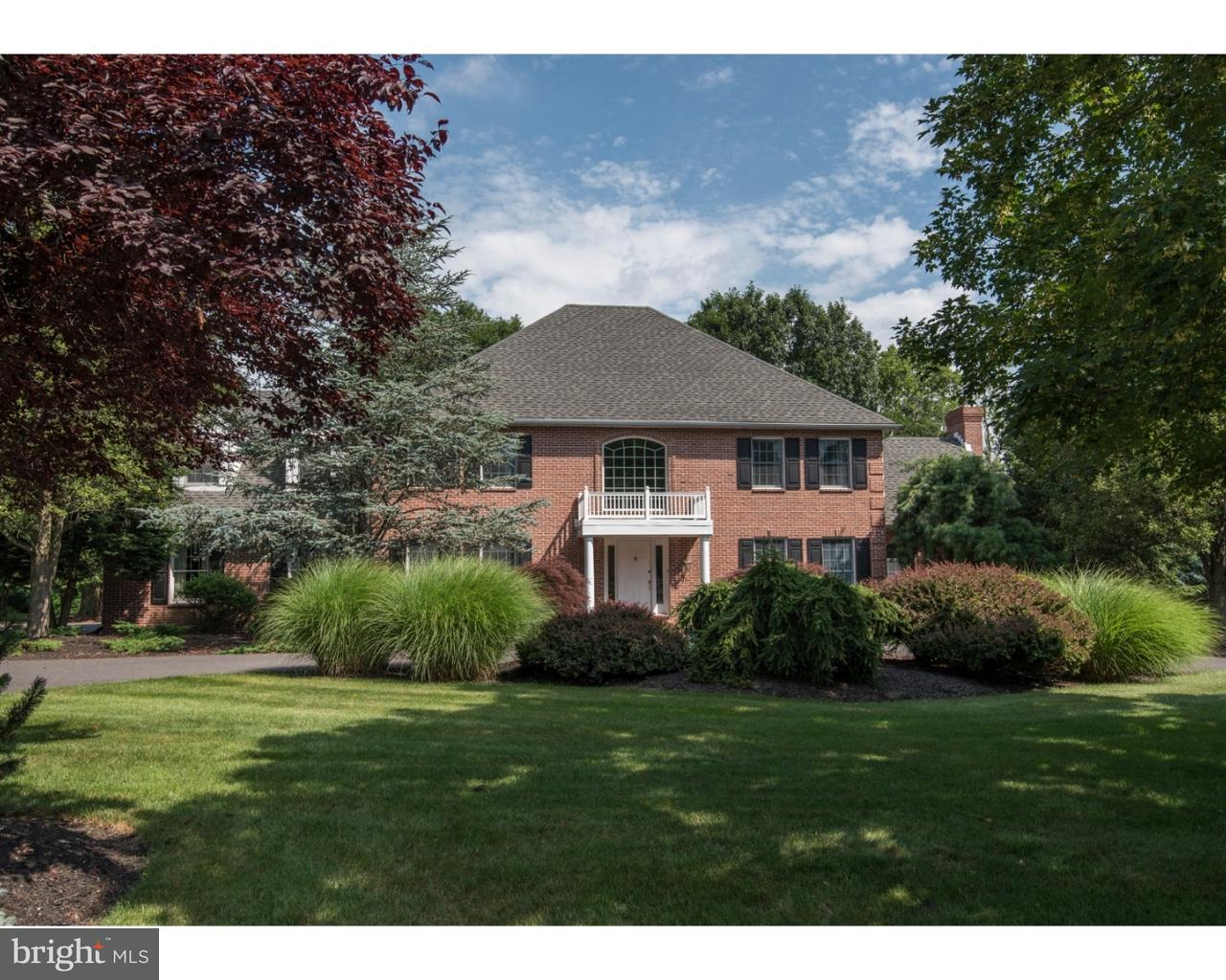 Частный односемейный дом для того Продажа на 1771 DEER RUN Road Bethlehem, Пенсильвания 18015 Соединенные Штаты