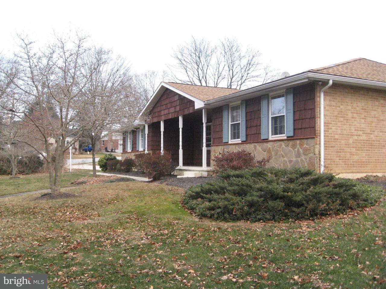 Частный односемейный дом для того Аренда на 2501 KINGMAN Drive Wilmington, Делавэр 19810 Соединенные Штаты