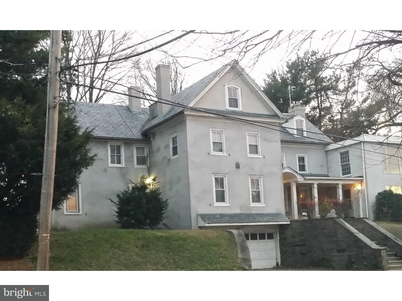 Single Family Home for Sale at 318 WASHINGTON Lane Jenkintown, Pennsylvania 19046 United States