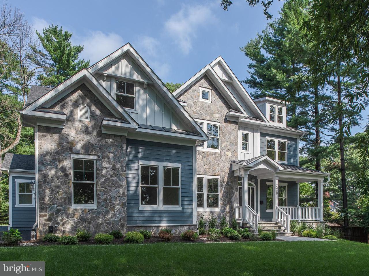 Частный односемейный дом для того Продажа на 2408 Chestnut Street 2408 Chestnut Street Falls Church, Виргиния 22043 Соединенные Штаты