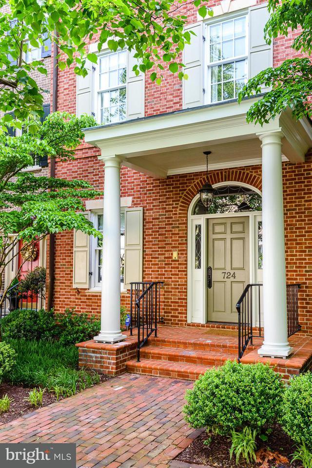 Σπίτι στην πόλη για την Πώληση στο 724 Union St S 724 Union St S Alexandria, Βιρτζινια 22314 Ηνωμενεσ Πολιτειεσ
