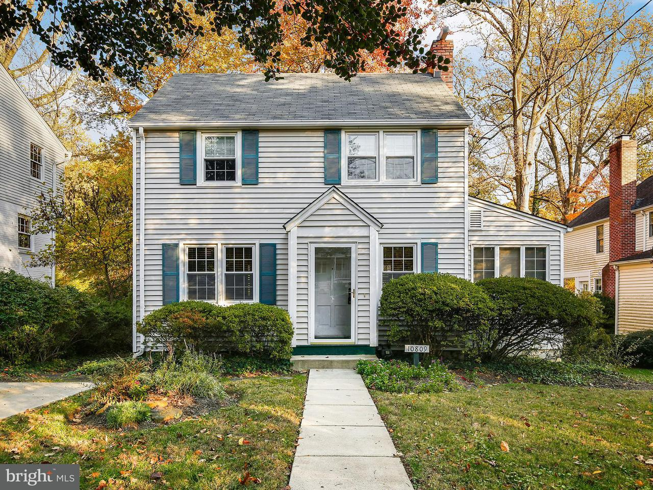 Single Family for Sale at 10809 Keswick St Garrett Park, Maryland 20896 United States