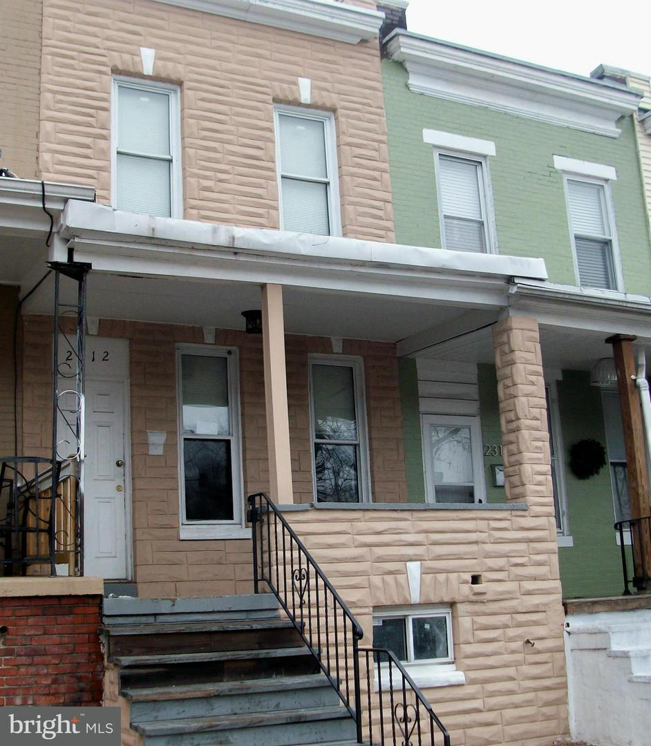 Photo of home for sale at 2312 Sidney Avenue, Baltimore MD