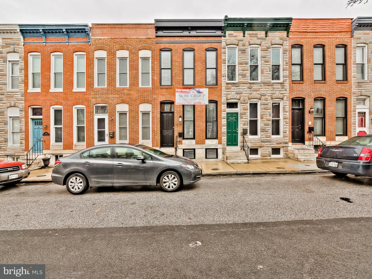 Single Family for Sale at 1519 Marshall St Baltimore, Maryland 21230 United States