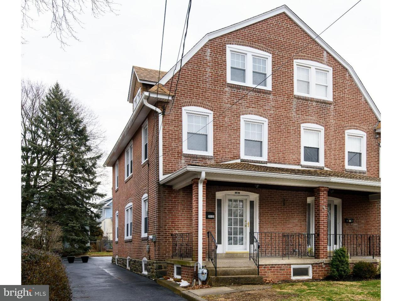 Townhouse for Rent at 2531 CHESTNUT Avenue Ardmore, Pennsylvania 19003 United States