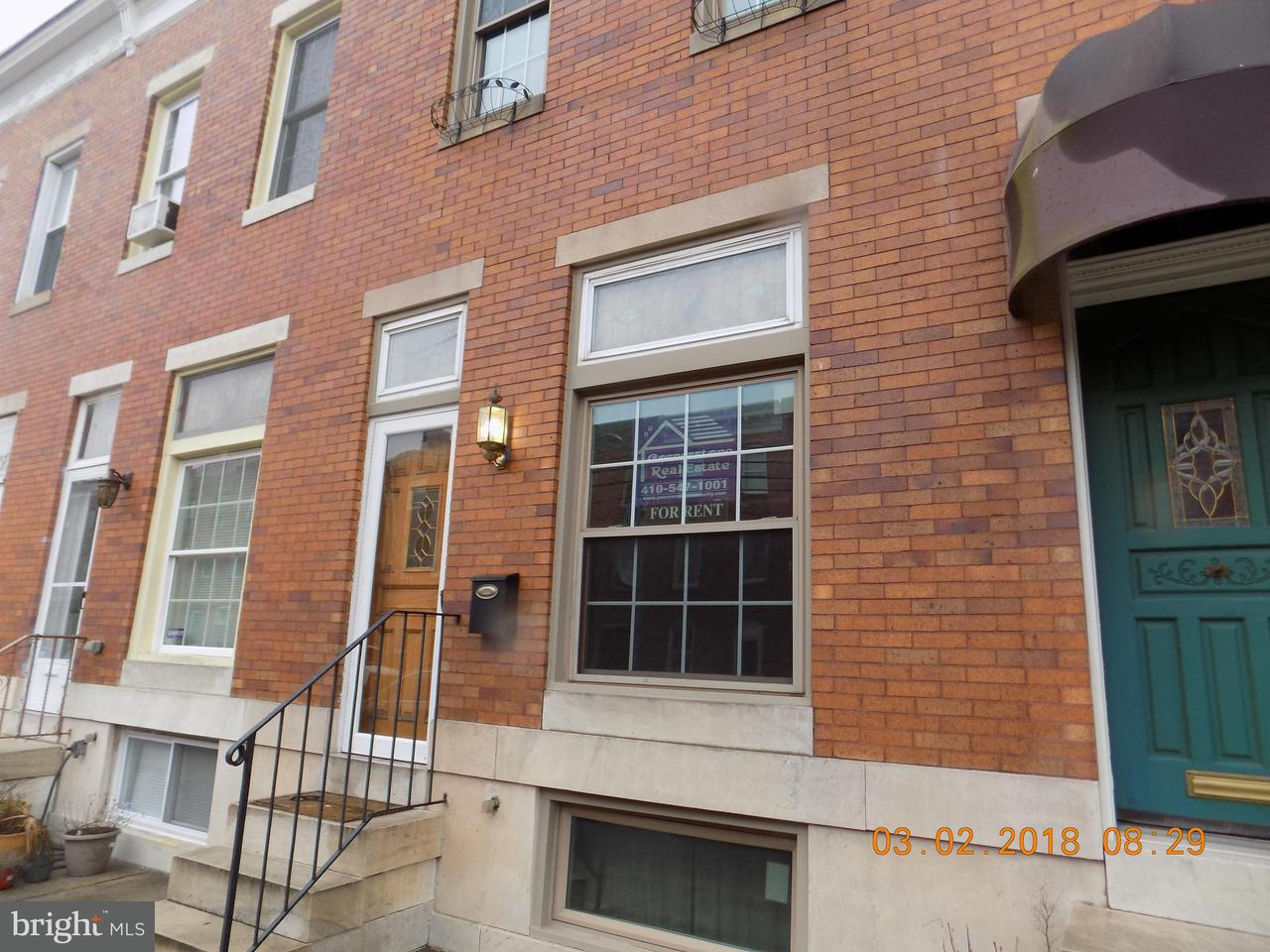 Other Residential for Rent at 1247 Hull St Baltimore, Maryland 21230 United States