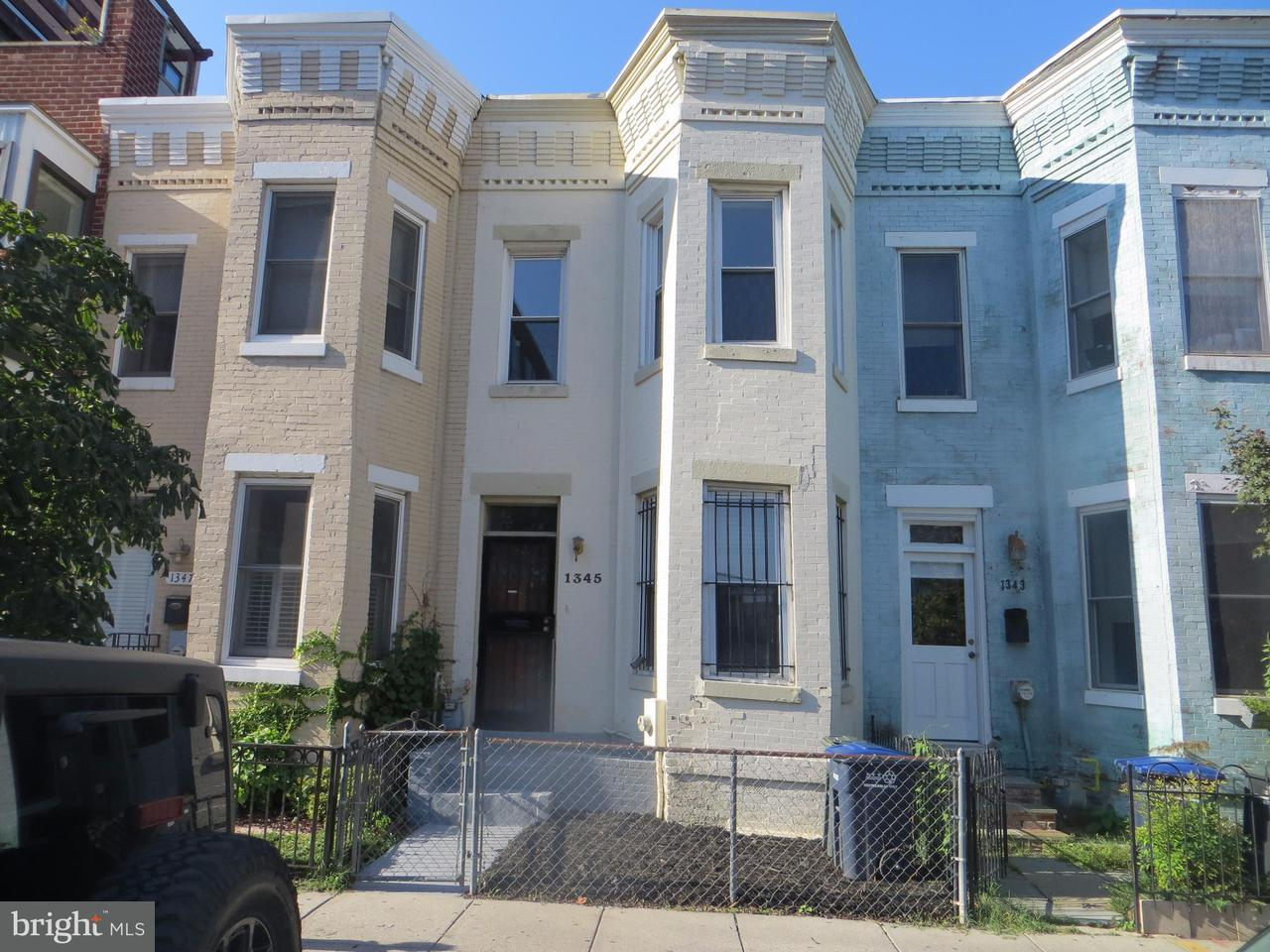 Single Family for Sale at 1345 V St NW Washington, District Of Columbia 20009 United States