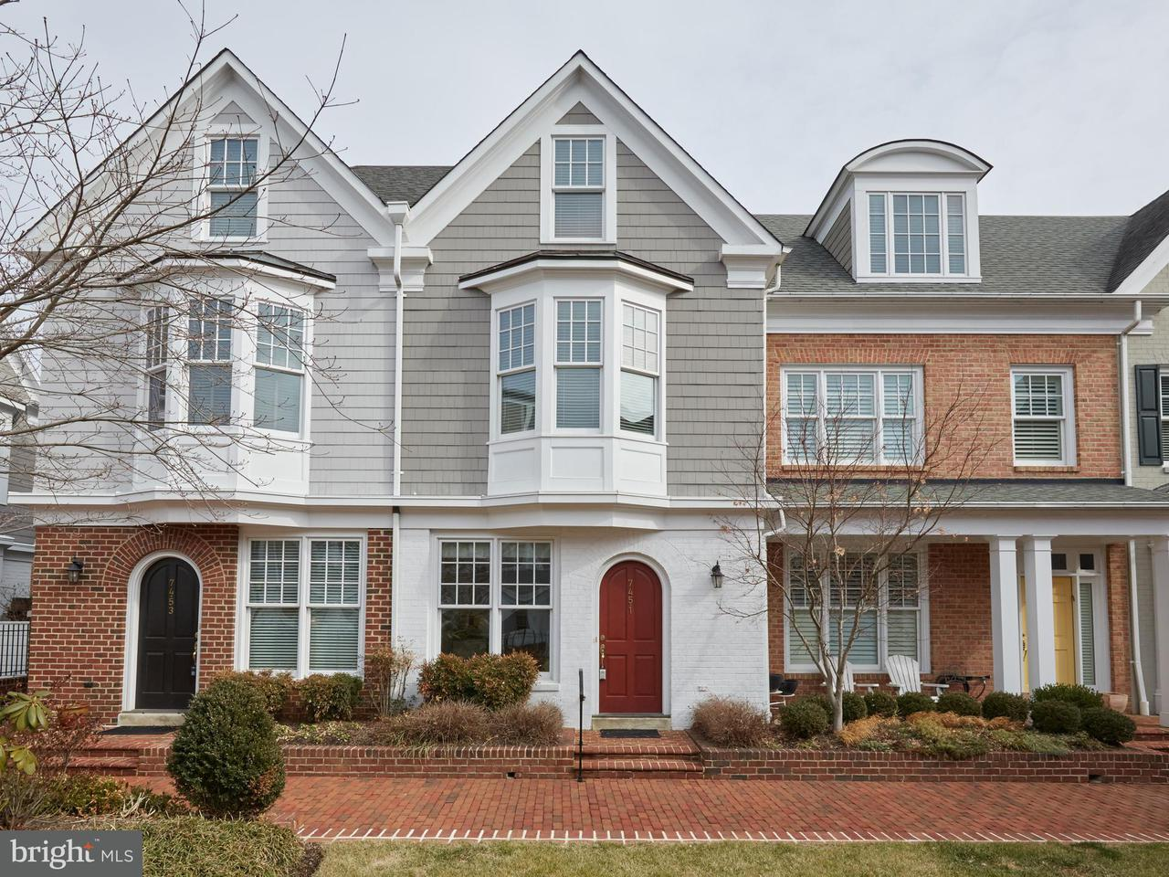 Townhouse for Sale at 7451 Arlington Road 7451 Arlington Road Bethesda, Maryland 20814 United States