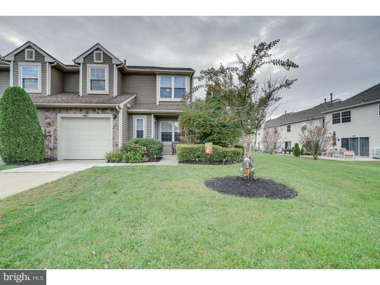 Casa unifamiliar adosada (Townhouse) por un Venta en 506 MASTERS Drive Blackwood, Nueva Jersey 08012 Estados Unidos