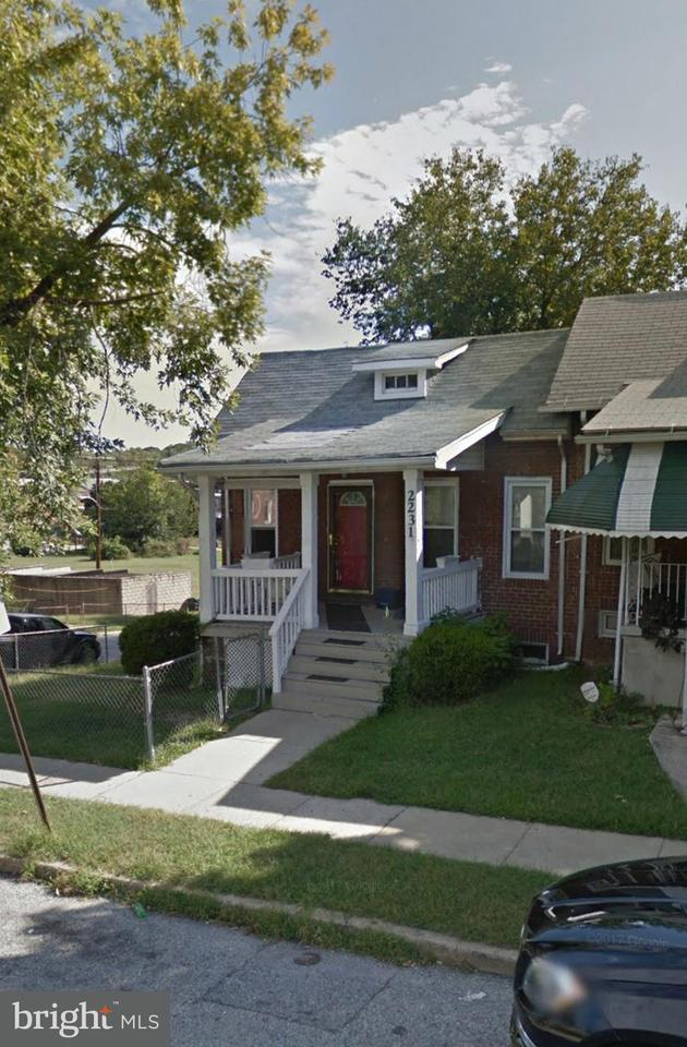 Single Family for Sale at 2231 Poplar Grove St Baltimore, Maryland 21216 United States