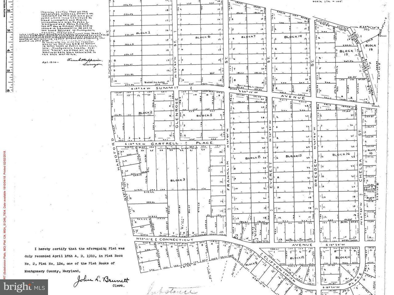 Land voor Verkoop een t 4221 Franklin Street 4221 Franklin Street Kensington, Maryland 20895 Verenigde Staten