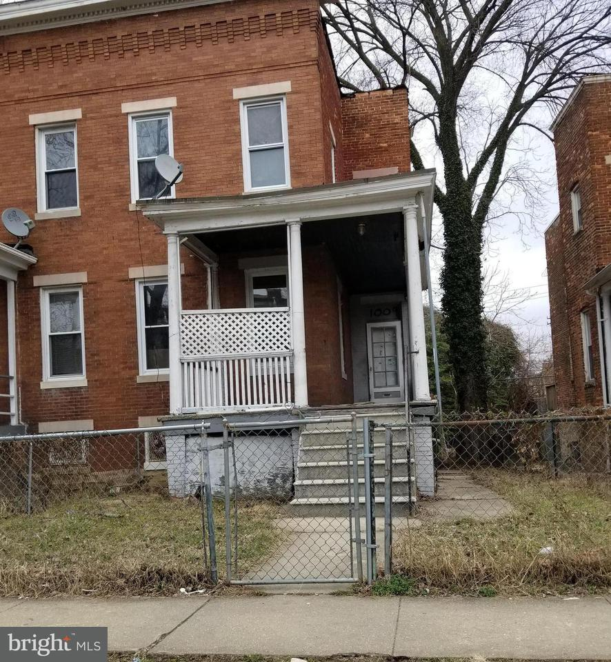 Single Family for Sale at 1009 Poplar Grove St Baltimore, Maryland 21216 United States