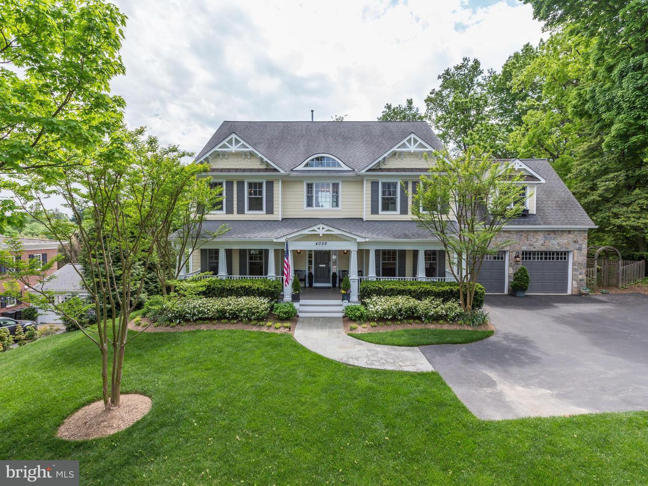 Einfamilienhaus für Verkauf beim 4028 Franklin Street 4028 Franklin Street Kensington, Maryland 20895 Vereinigte Staaten