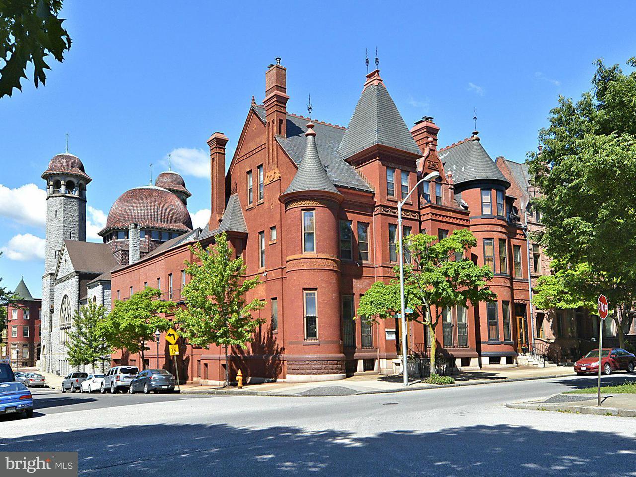 다가구 주택 용 매매 에 1900 Eutaw Place 1900 Eutaw Place Baltimore, 메릴랜드 21217 미국